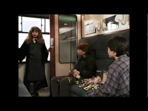 harry ron and hermione first meet quotes