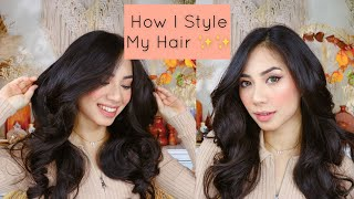 HOW I STYLE MY HAIR | TUTORIAL CATOK RAMBUT + PAKE JEDAY