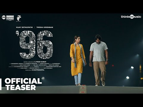 96 Official Teaser  Vijay Sethupathi, Trisha Krishnan  Madras Enterprises  C. Prem Kumar  Govind
