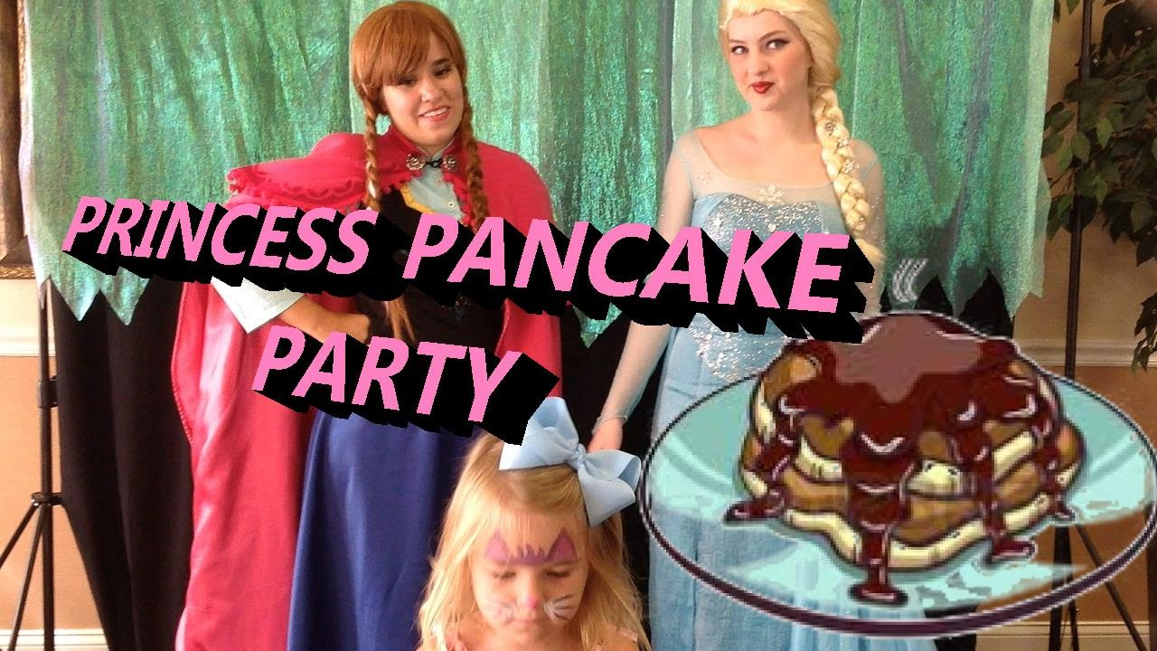Princess Chocolate Pancake Party Elsa And Anna Frozen Disney Magnolia S 26th Myrtle Beach