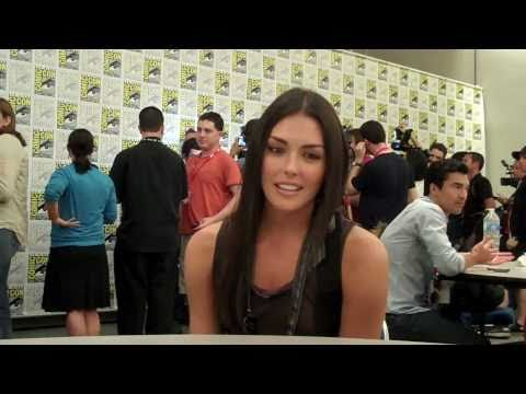 Taylor Cole Talks The Event  TVaholic.com at ComicCon 2010