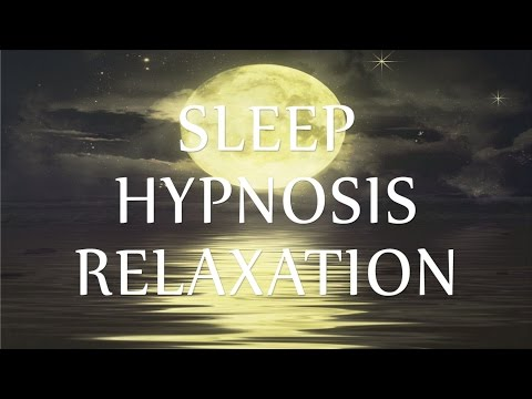 Sleep Hypnosis Relaxation Guided Talk Down for Insomnia (Calm Music & Soft Ocean Waves)