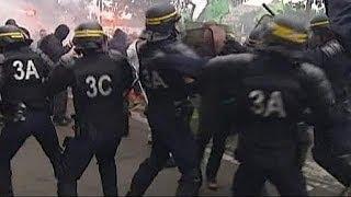 Fransa demiryolu işçileri 1 haftadır eylemde