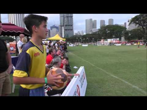 2016 Singapore 7s Final - U15 JSSL Elite vs. Home United Football Club