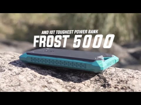 A waterproof Smart Solar Charger & Power Bank That Works in temperatures as low as -58°F