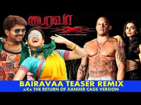 Funny Bairavaa Aka Bhairava Teaser Remix -...