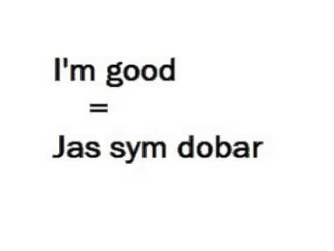 Macedonian Language Lesson 1