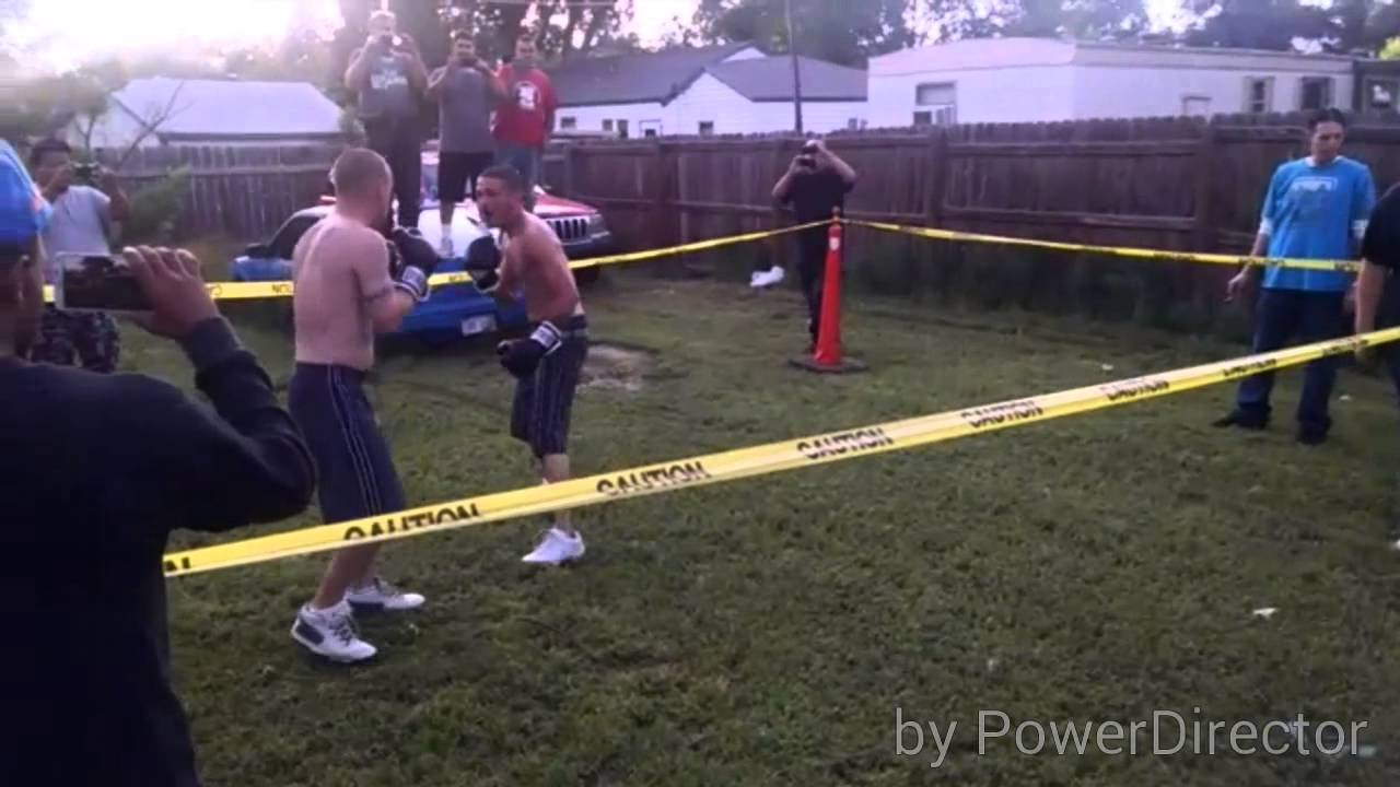 backyard fights fve youtube