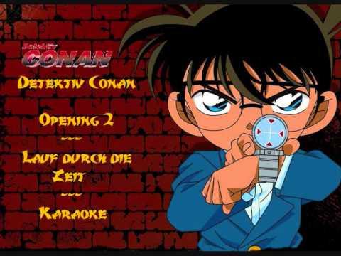 Detektiv Conan Opening 2 - Lauf durch die Zeit #  Karaoke
