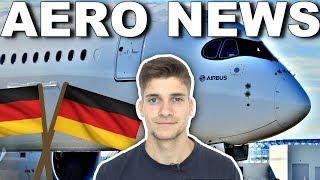 DREI A350 als REGIERUNGSFLIEGER für 1,2 MRD€! AeroNews