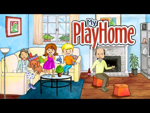 My PlayHome | Play Home Doll House (Android Gameplay) #5 | Cute Little Games