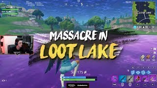 Loot Lake Massacre (insane 20 kill clutch)