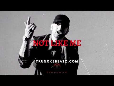 Not Like Me (Dark Trap Eminem Type Beat | Royce Da 5'9 Piano Type Beat) Prod. by Trunxks
