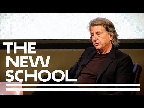 David Rockwell At The Parsons Table with Paul Goldberger