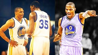 Kevin Durant and Russell Westbrook on the Warriors with Stephen Curry - Westbrook Joins Warriors