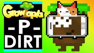 P-DIRT Breaks 5,000 DIRT for LEGENDARY BOT in GROWTOPIA!