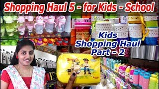 Shopping Haul in Tamil / Shopping Haul Saravana Stores / Shopping Haul Vlog 5 - Karthikha Channel