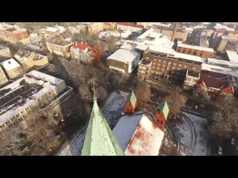 Черняховск с квадрокоптера