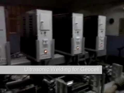 Ultrasonic Welding Machine Of Geocells And Geogrids
