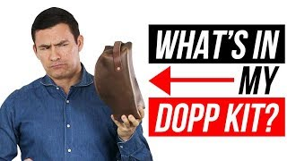 How To Pack Your Dopp Kit | Men's Travel Grooming Essentials | RMRS