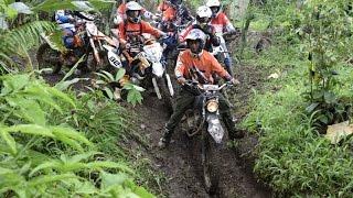 Motor Cross Adventure 2017 - Sebrangi Sungai Awu-awu Banyuwangi