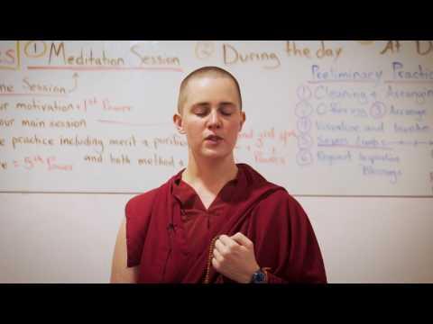 A Quick Vajrasattva Meditation with Ven. Lozang Yönten