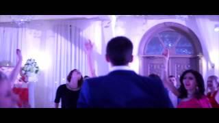 Световое оформление свадьбы Кости и Катюши 14 02 2015 г  ресторан Шодо