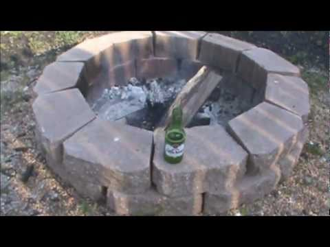 How To Build A Backyard Fire Pit - How To Build A Backyard Fire Pit - YouTube