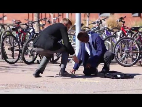 BUSINESS MAN DROPPING CONDOMS!! EXTRAS