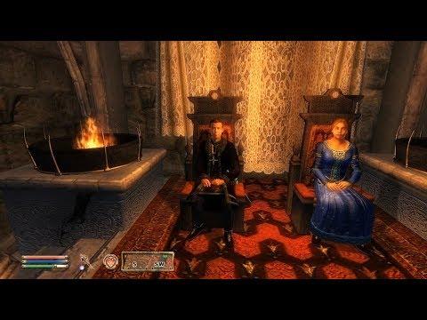 TES IV Oblivion #141 Союзники Брумы. Анвил [1/2]