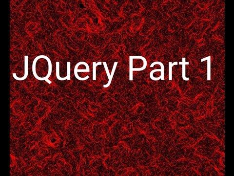 #21 JQuery Part 1 شرح