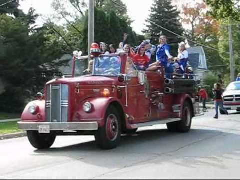 Larkin Homecoming Parade 2010, Part 1; LHS Band; J...