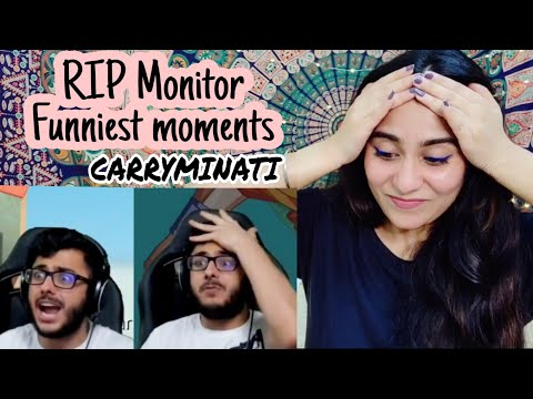Carryminati RIP Monitor 2017-2019 Reaction   Carryislive  Getting over it   Carry funniest moments