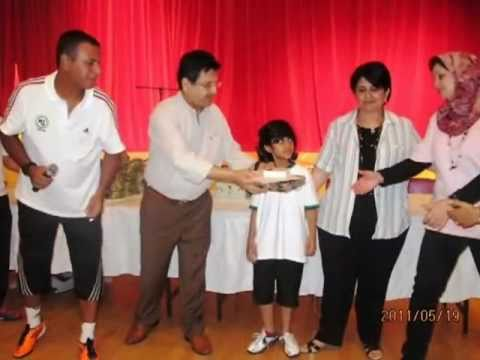 Ceremony Soccer Academy at Dubai International School