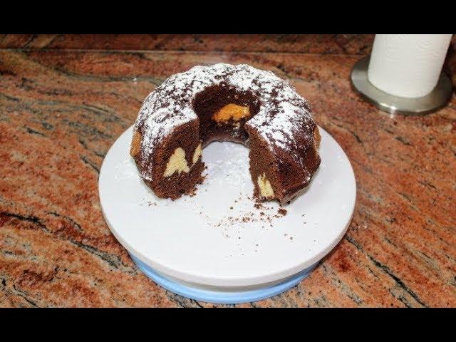 Лесен и ефектен кекс
