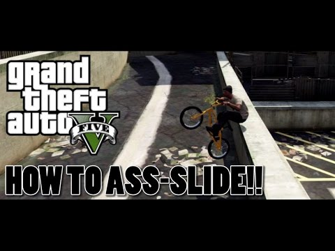 GTA 5 BMX - How To Do The Ass-Slide