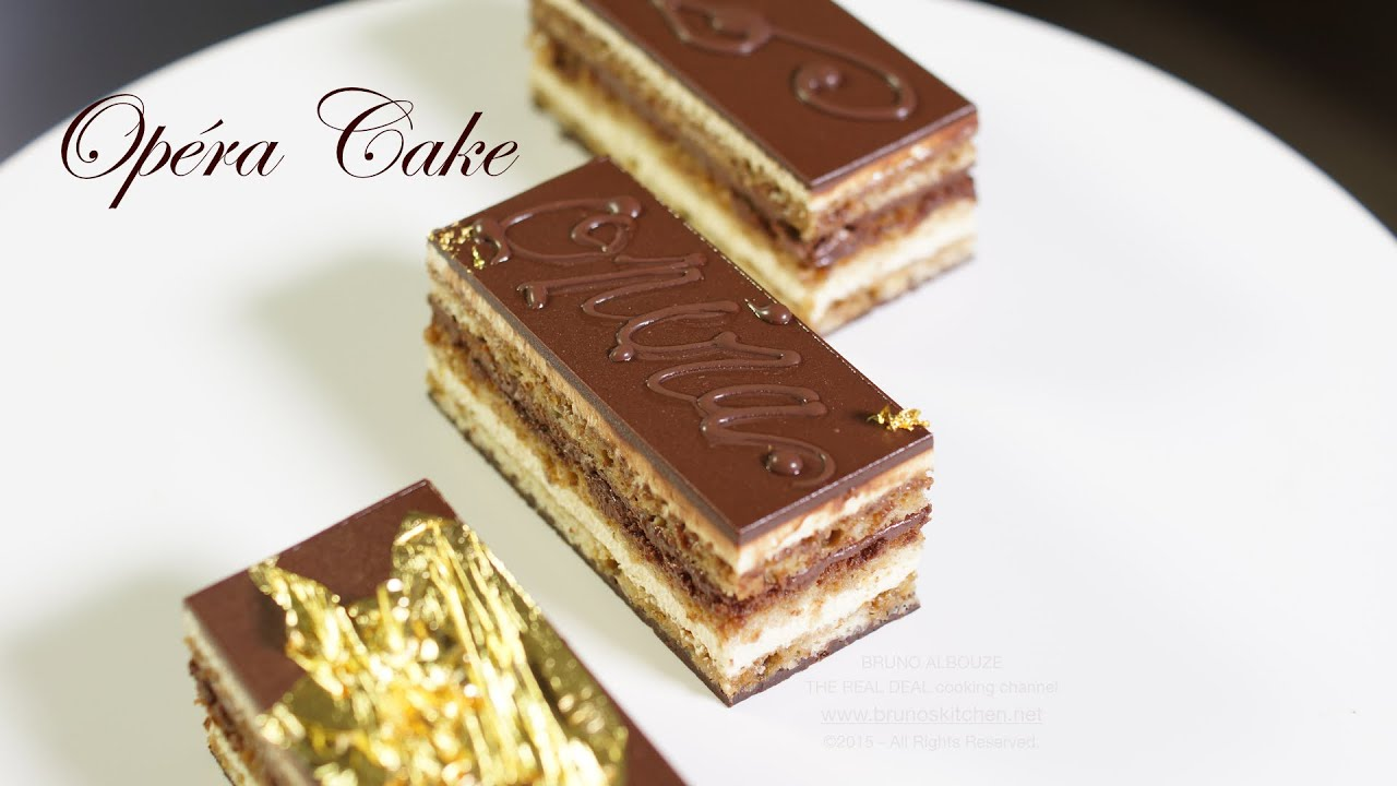 How To Make French Opera Cake