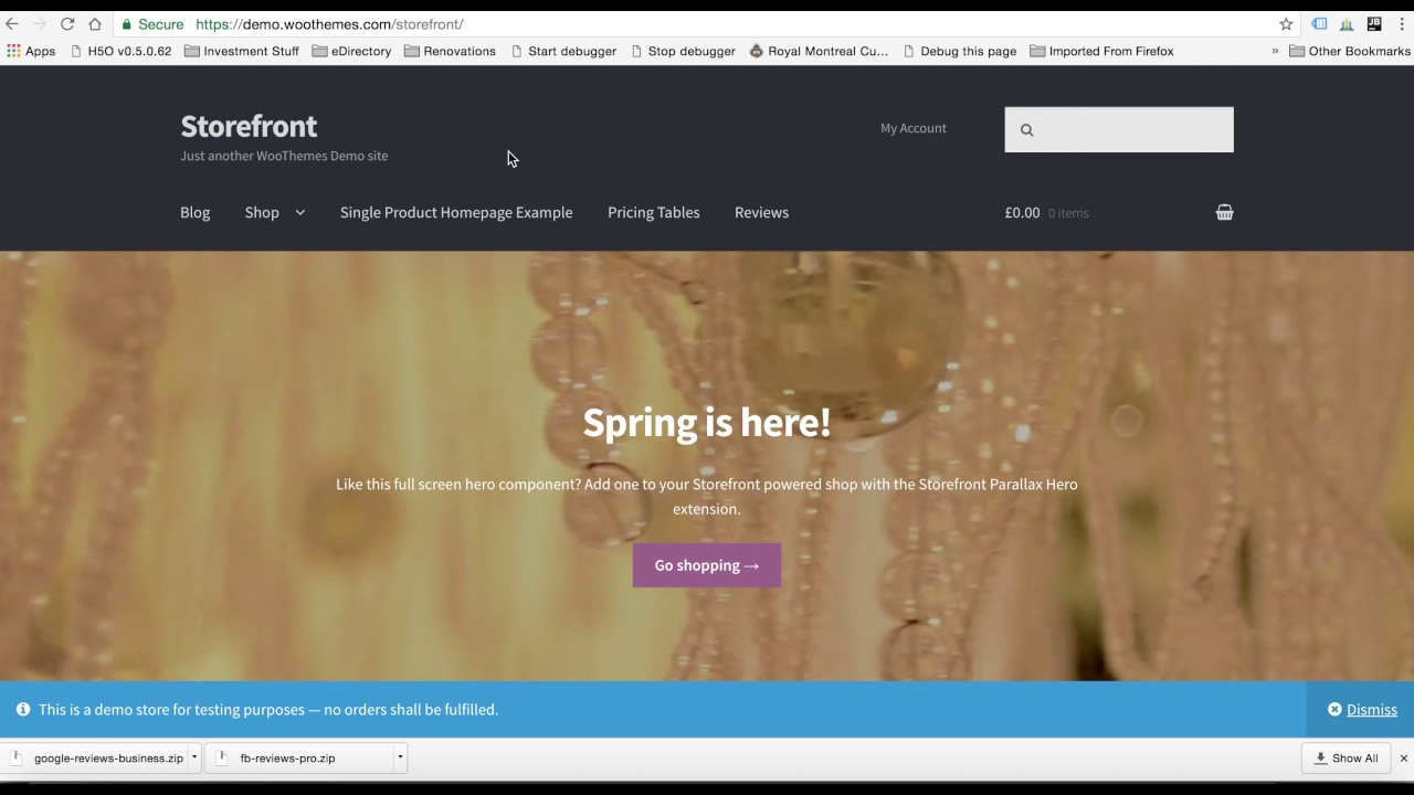 Woocommerce Storefront Theme Youtube