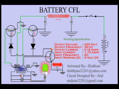 animated cfl circuit in hindi animated cfl circuit in hindi