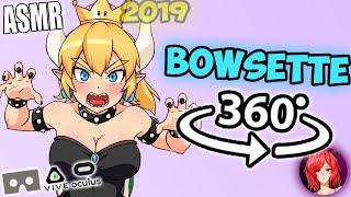 Bowsette Captures You~ [ASMR] 360: Bowsette Roleplay 360 VR (RP)