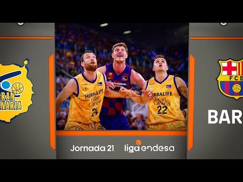 Herbalife Gran Canaria - Barça (65-81) RESUMEN | Liga Endesa 2019-20