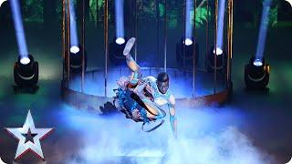 Dancer Bonetics is in bit of a bind | Semi-Final 2 | Britain\'s Got Talent 2015