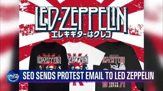 SEO SENDS PROTEST EMAIL TO LED ZEPPELIN (News Today) l KBS WORLD TV 211015