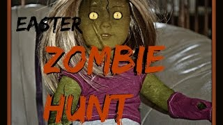 Huge Easter Egg Hunt Haul American Girl Nerf Gun Beanie Boo Lego Elsa Frozen and ~ ZOMBIES?!?!