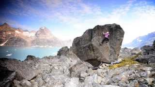 Ethan Pringle and Angie Payne in Greenland