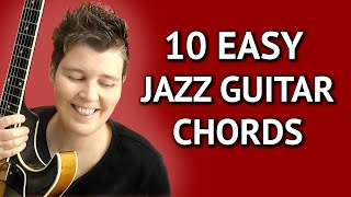EASY JAZZ GUITAR CHORDS - 7th …