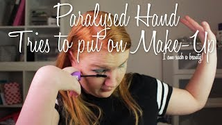 Paralysed Hand Tries To Put On Make-Up | Tessa Klok