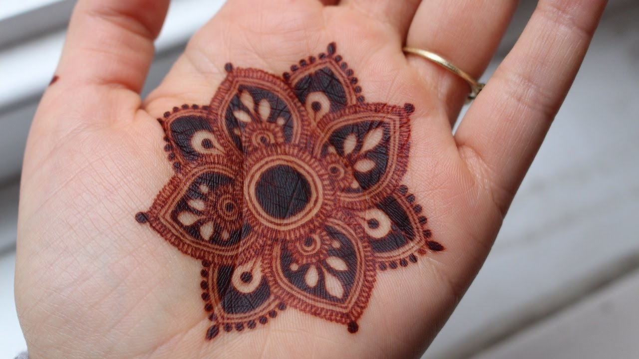 Mandala Henna Designs: INTRICATE MANDALA DESIGN By Henna CKG