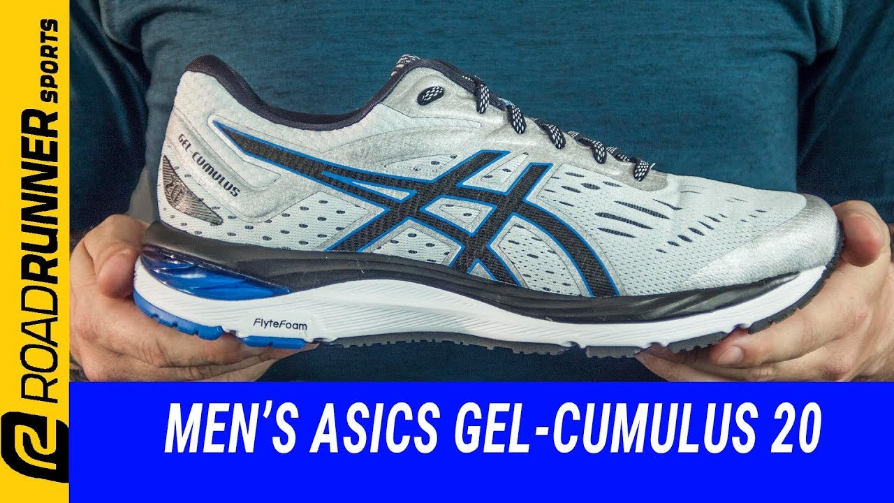 Men's ASICS GEL-Cumulus 20 | Fit Expert Review - YouTube