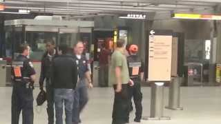 Undercover STM Cop on Montreal Metro